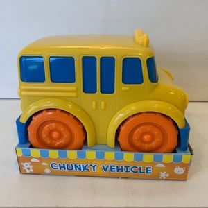 Boley Truck Toy Chunky Vehicle School Bus